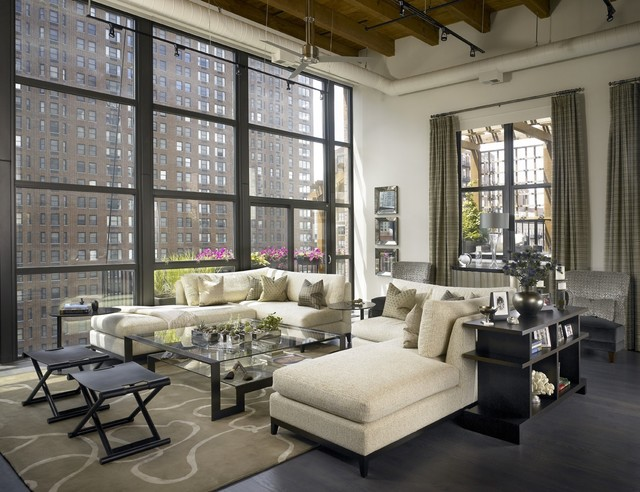 Sectional Sofa Slipcovers Living Room Industrial with Casement Windows Corner Sofa