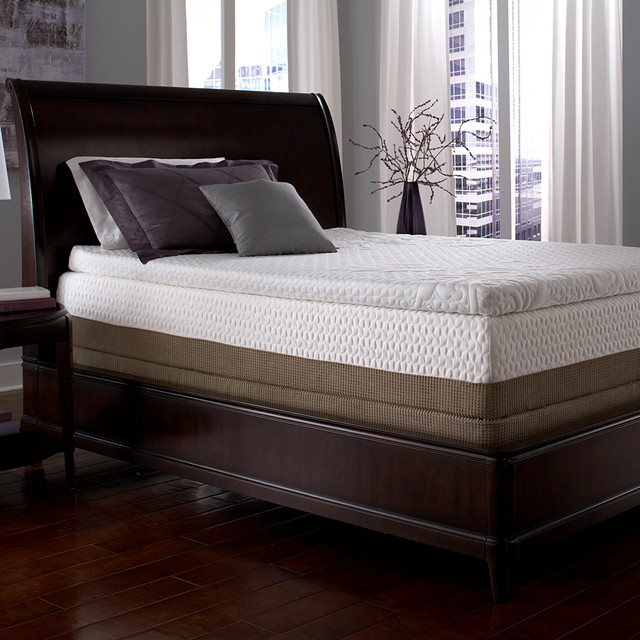 Serta Mattress Topper Bedroom Contemporary with Categorybedroomstylecontemporarylocationunited States 2