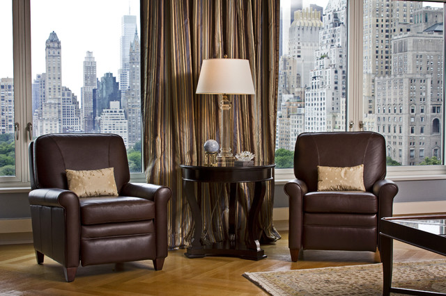 southern motion recliners Family Room Traditional with Contemporary Family Room contemporary