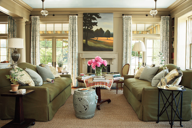 Southern Motion Recliners Living Room Traditional with Art Built in Bookcase Column