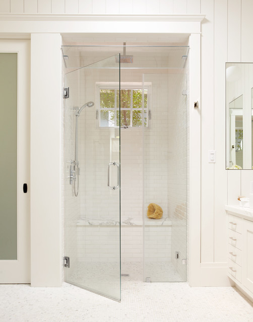 Speakman Shower Heads Bathroom Traditional with Baseboards Curbless Shower Frameless