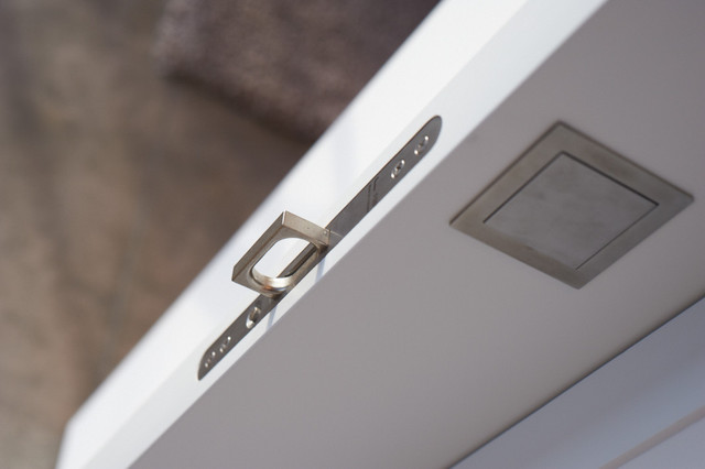 Spring Loaded Hinges Spaces Traditional with Fsb Hardware Pocket Door