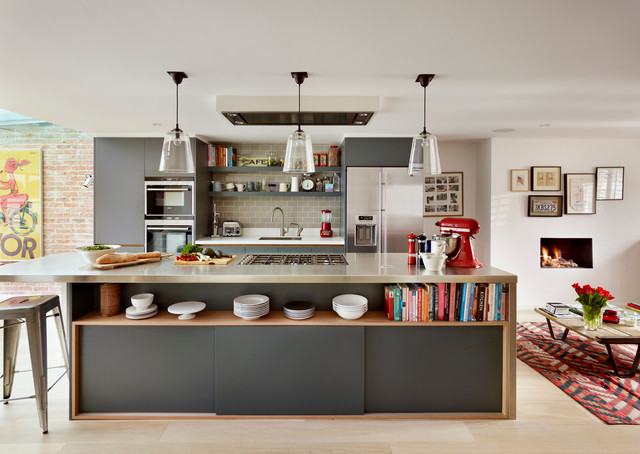 Stainless Steel Tea Kettle Kitchen Contemporary with Bar Stool Beautiful Kitchen