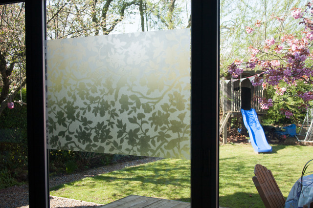 Static Cling Window Film Spaces Modern with Bifold Doors Decoration Design