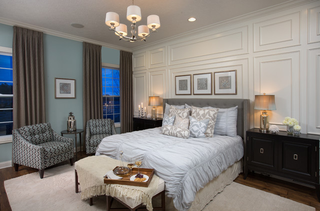 Stylecraft Lamps Bedroom Transitional with Bedroom Seating Bench Blue