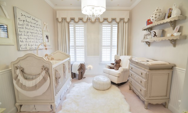 Sugarboo Designs Nursery Transitional with Baby Nursery Brown And