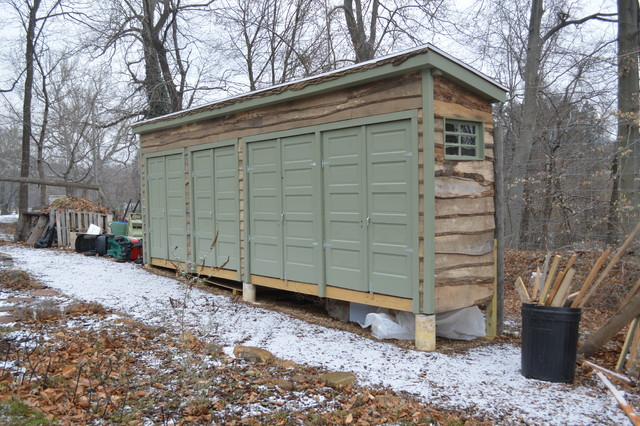 Suncast Storage Shed Garage and Shed Eclectic with Fallen Logs Gardening Shed