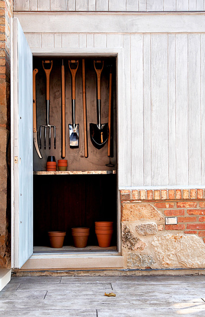 Suncast Storage Shed Garage and Shed Rustic with Brick Brick Exterior Chicago