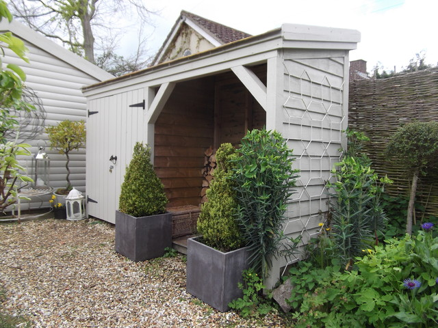Suncast Storage Shed Garage and Shed Traditional with Bark Mulch Barn Hinges