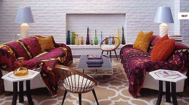 Suzani Spaces Eclectic with Categoryspacesstyleeclecticlocationlos Angeles