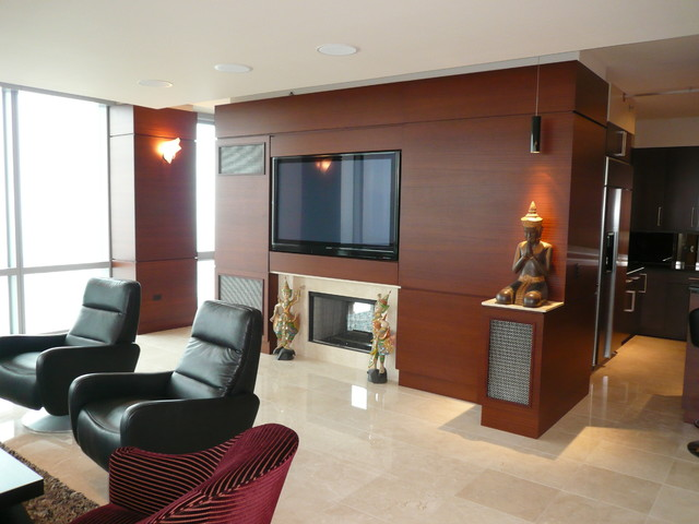 swivel recliner Living Room Contemporary with Buddha burgundy chair large