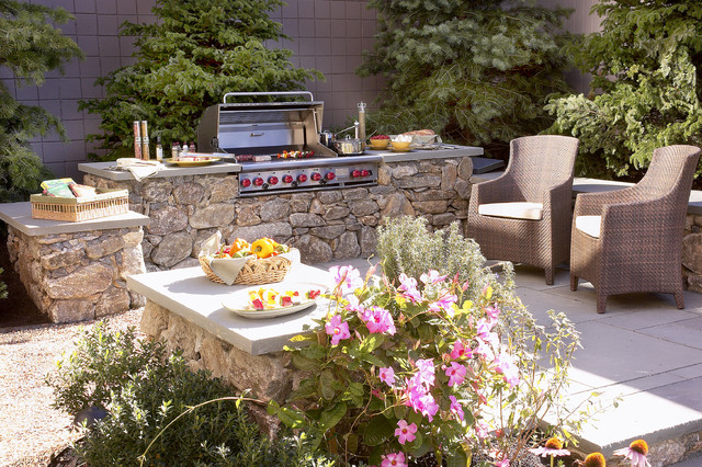 tabletop charcoal grill Patio Tropical with boston built-in barbecue built-in