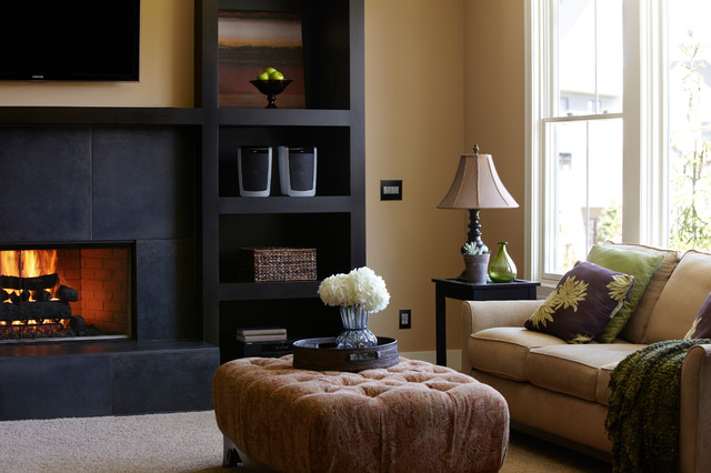 tamper resistant outlet Living Room Traditional with CategoryLiving RoomStyleTraditionalLocationUnited States