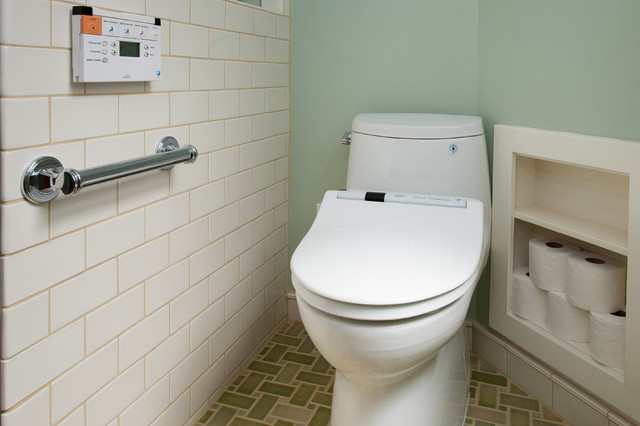 toto bidet seat Bathroom Traditional with accessible ADA bath bathroom