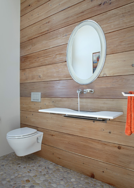 Toto Toilet Flapper Bathroom Contemporary with Modern Faucet Modern Sink