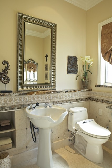 Toto Washlet Bathroom Traditional with Accessible Accessories Ada Beige
