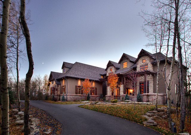 Tri County Roofing Exterior Traditional with Sandstone Stone Stone Veneer