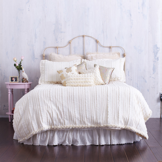 Twin Duvet Cover Bedroom Farmhouse with Accent Pillows Beach Cottage