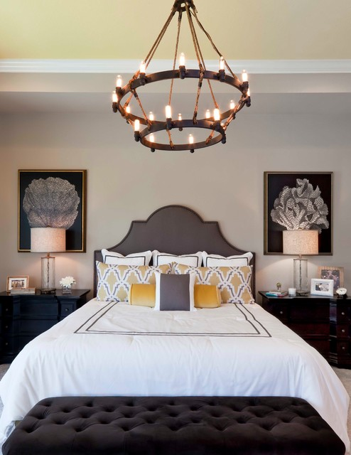 Uttermost Lamps Bedroom Transitional with Beige Wall Chandelier Color