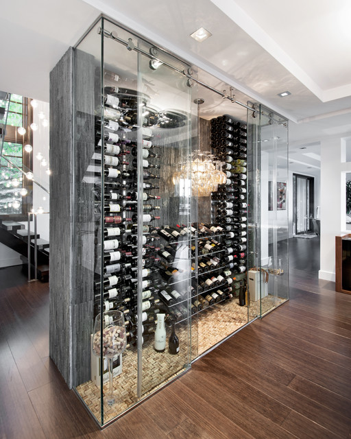 Waterford Wine Glasses Wine Cellar Contemporary with Bubble Pendant Chandelier Cork