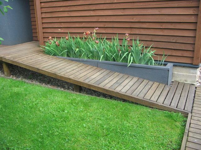 Wheelchair Ramp Plans Landscape Contemporary with Categorylandscapestylecontemporarylocationlithuania