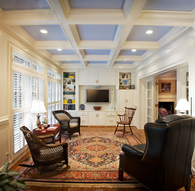 Wicker Rocker Family Room Traditional with Airy Room Antique Armchair