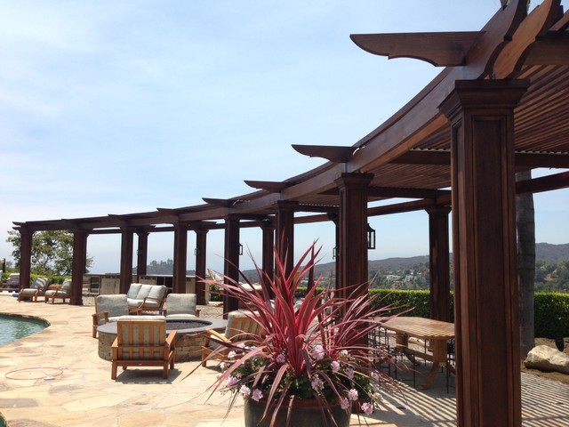 Wood Burning Pizza Oven Patio Mediterranean with Categorypatiostylemediterraneanlocationlos Angeles