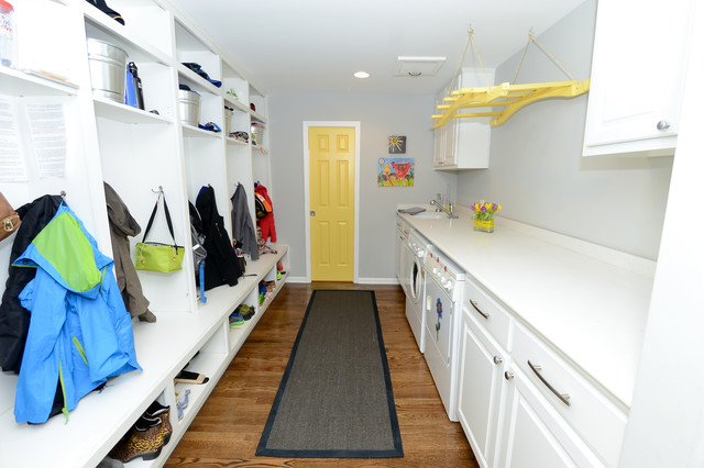 Yellow Jacket Hvac Laundry Room Traditional with Built in Cubbies Built in Lockers