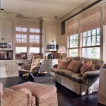 A1 Blinds for Traditional Home Office & Library