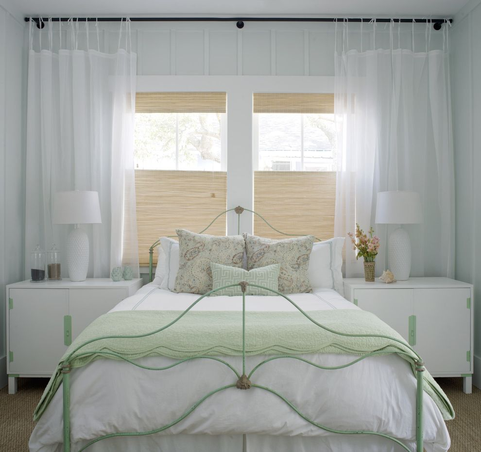 Budget Blinds for Shabby-Chic Style Bedroom