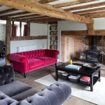 Chesterfield Corner Sofa for Country Living Room