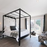 Four Poster Beds for Transitional Bedroom