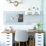 Ikea Office Chair for Transitional Home Office & Library