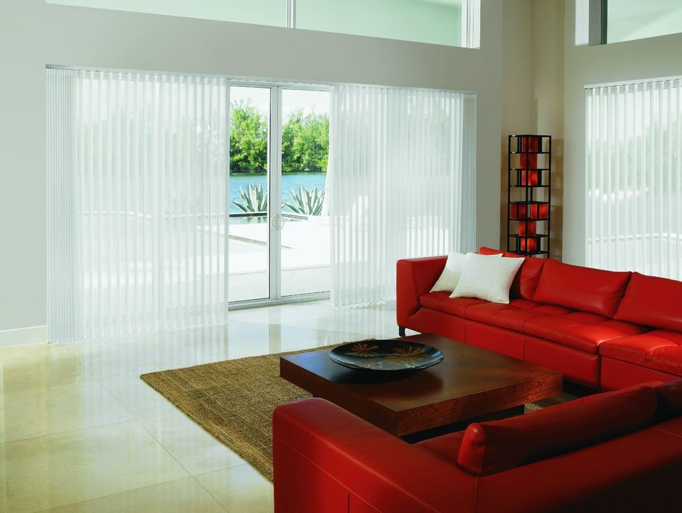Levolor Blinds for Contemporary Living Room