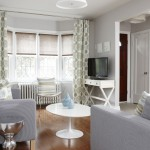 Levolor Shades for Transitional Living Room