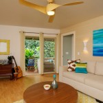 Minka Aire Fans for Tropical Living Room