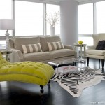 Modern Chaise Longue for Transitional Living Room