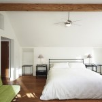 Monte Carlo Ceiling Fans for Contemporary Bedroom