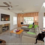 Monte Carlo Ceiling Fans for Contemporary Living Room