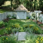 New England Arbors for Traditional Garden