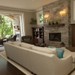 Pearl Mantels for Contemporary Living Room