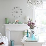 Pearl Mantels for Shabby Chic Style Living Room