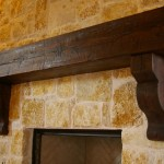 Pearl Mantels for Traditional Living Room