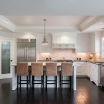Pottery Barn Bar Stools For Transitional Kitchen