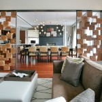 Room Divider Screen for Contemporary Living Room