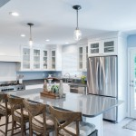 Savoy House Lighting for Transitional Kitchen