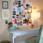 Shabby Chic Desk for Eclectic Home Office & Library