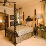 Sleigh Bed for Traditional Bedroom