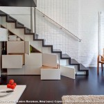 Under Stairs Storage Solutions for Industrial Staircase