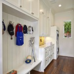 Understairs Storage for Traditional Utility Room